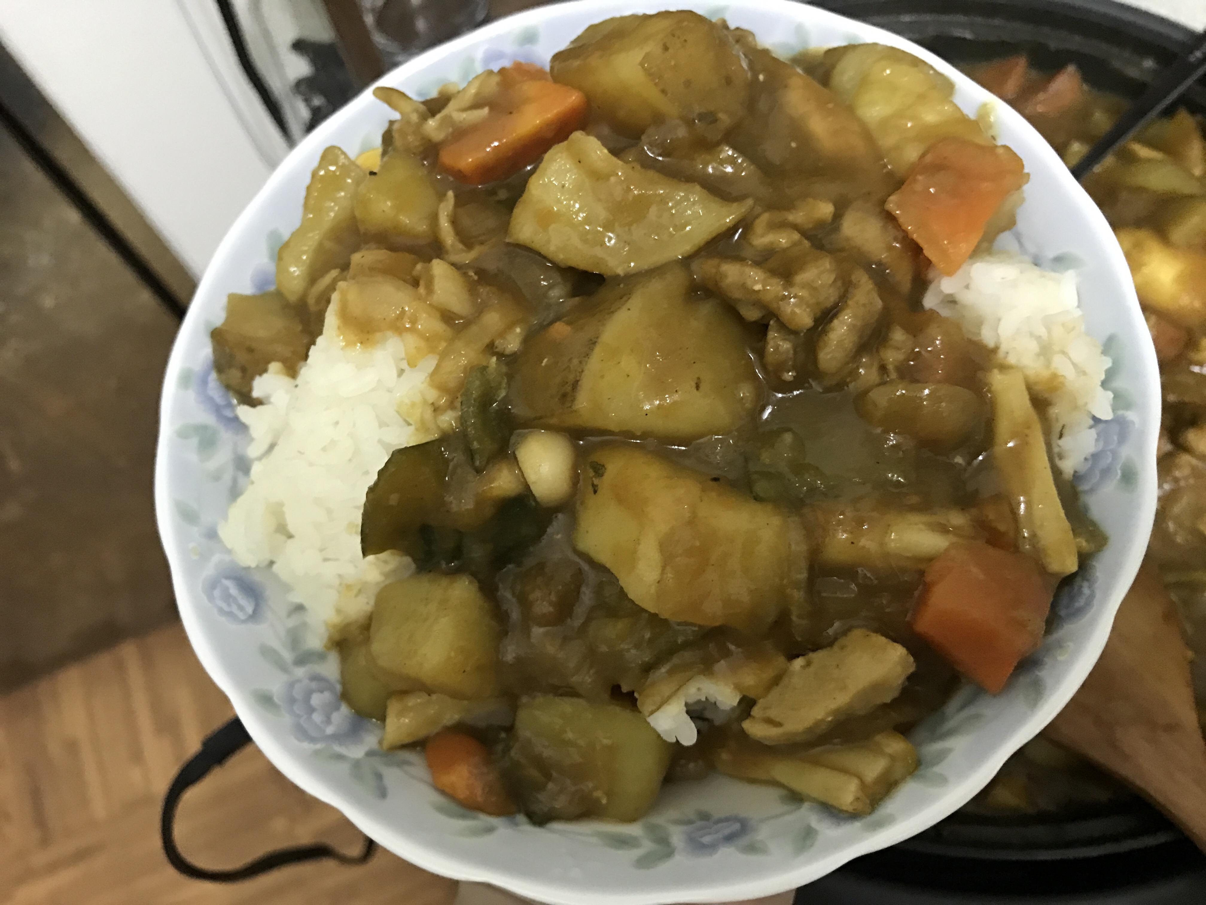 懶懶子深夜食堂~豬肉咖哩飯! 攝影 日式料理 民生資訊分享 自己動手做! 飲食集錦