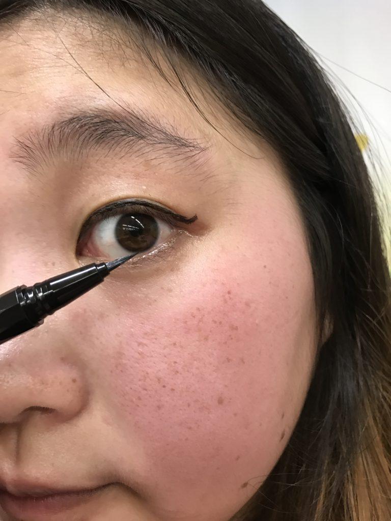 KATE x Pentel -進化版持久液體眼線筆EX / Super Sharp Liner EX. 彩妝控x文具控 易於描繪的極細筆尖 溫水可卸 抗油耐汗經典再進化 彩妝品分享 攝影 民生資訊分享