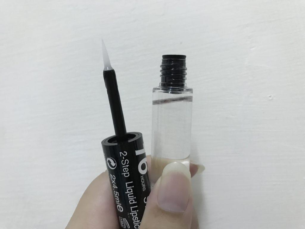 【Makeup】tt max 2-STEPS LIQUID LIPSTICK/16小時不脫色唇漾液態口紅 效果令人驚豔 遇水不掉色 持久度佳但比較難卸 彩妝品分享 攝影 民生資訊分享