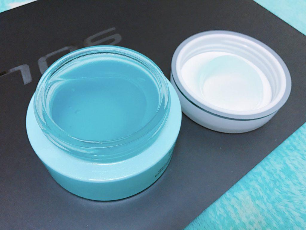 facial mask-Novae Plus 法國楉薇寶石煥膚絲絨凍膜 怎麼動都不滴的好凍膜/好動膜,邊保養邊動起來,肥肥不上身唷~ 保養品分享 健康養身 攝影 民生資訊分享