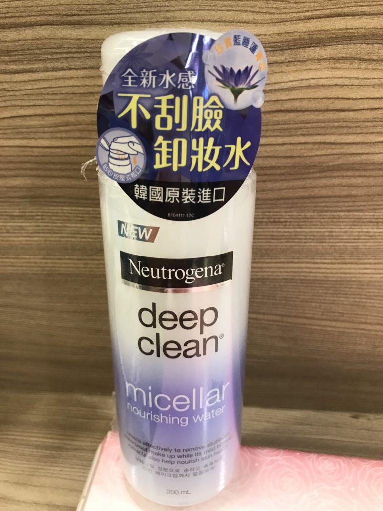 Neutrogena/露得清新品-cleaser-深層淨化溫柔泉潤卸妝水-全新水感的溫柔卸妝水卸除彩妝更無負擔,連卸除防水耐汗的防曬品也很好用! 保養品分享 彩妝品分享 民生資訊分享