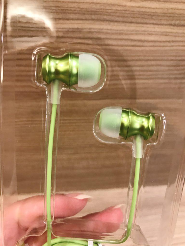 UiiSii-US60 竹子輪廓造型入耳式線控耳機-3C實測分享-超萌的外觀,粉嫩的色系,顏值超高~ 3C相關 攝影 民生資訊分享