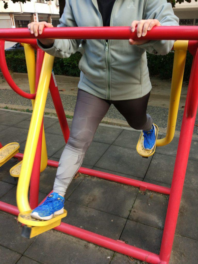 穿搭/VOUX 機能緊身褲-女Irisation緊身褲-灰色-放寬你的腳步,動感機能不受限 健康養身 攝影 民生資訊分享