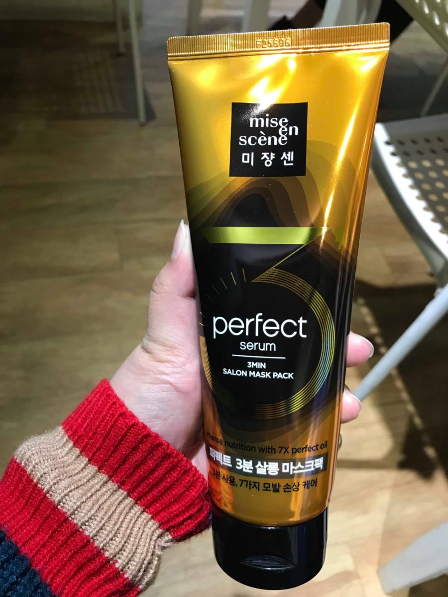 haircare/hairmask/cosmetic/oil/韓國髮妝品/沙龍級護髮-魅尚萱完美修護3分鐘沙龍級髮膜-冬季愛用髮妝品,給秀髮豐厚滋潤的使用感受! 保養品分享 民生資訊分享 美髮相關