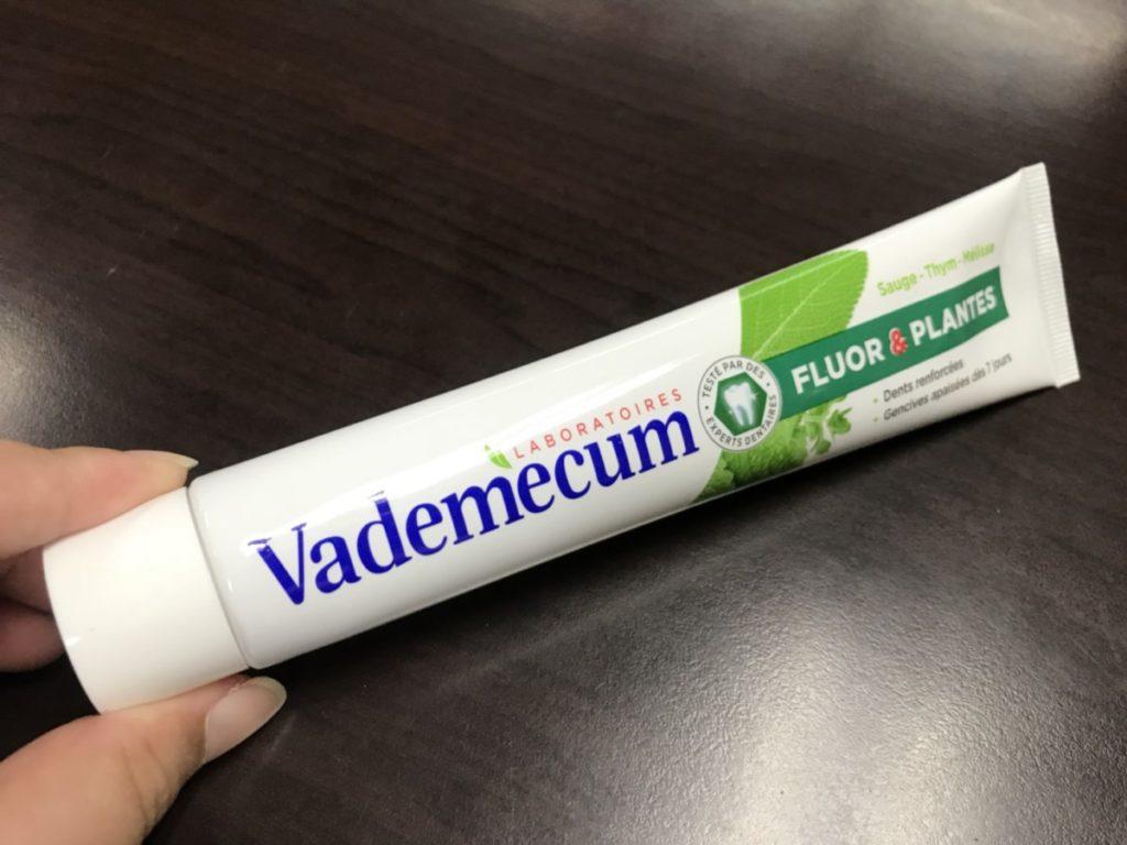 Vademecum 草本清新健齒牙膏 德國製造的涼感牙膏 用起來有不刺激的沁爽感 健康養身 民生資訊分享