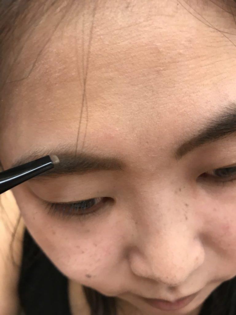 makeip tutorial-用KATE凝色柔滑眼線膠筆、零瑕肌密微霧粉底液、幻色持久唇釉N、雙用立體眉彩筆N、3D造型眉彩餅做全臉彩妝!p.s.這眼線筆太強,夏天化妝捨它其誰! 彩妝品 彩妝品分享 攝影 民生資訊分享