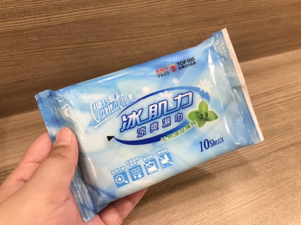 MIT/Carnation/康乃馨清涼衛生棉、涼爽潔膚濕巾-潔淨衛生、持久清涼,讓那幾天享受自帶空調的好心情吧! 健康養身 攝影