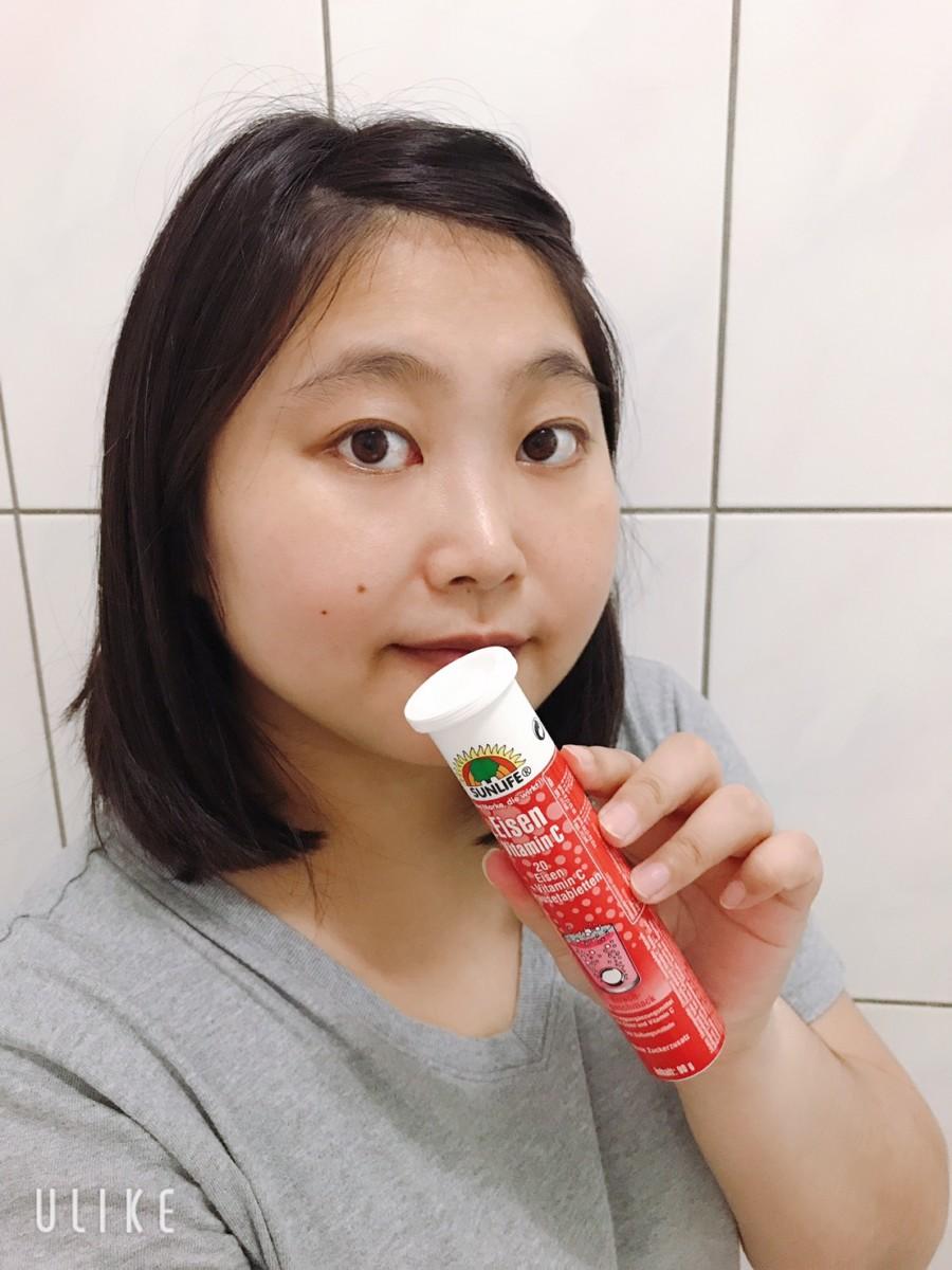 sunlife森萊富鐵+C發泡錠,德國進口特別適合經期、月事的健康補給沖泡飲品! 保養品分享 健康養身 攝影 民生資訊分享
