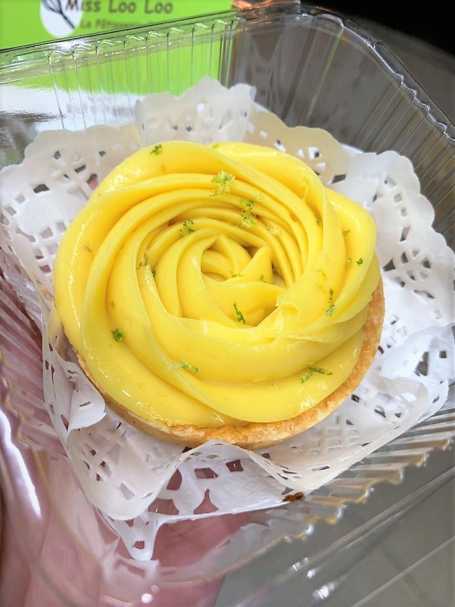 Miss Loo Loo La Patisserie & Sweet/台中南區忠孝夜市的酸香夠味好吃檸檬塔,偶爾對自己好一點~Lemon tart ♥ 攝影 民生資訊分享 飲食集錦