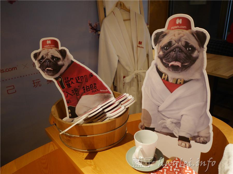 O.L.O CAFÉ@台北東旅-亞洲唯一Hotels.com聯名Bellpug主題Cafe,限定主題餐萌到融化妳~松山下午茶/輕食咖啡/咖啡館/不收服務費 攝影 民生資訊分享 飲食集錦
