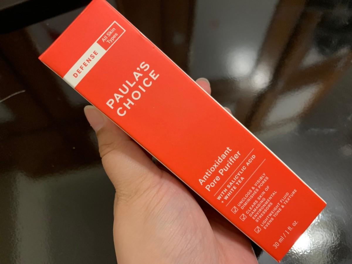 Paula`s Choice寶拉珍選全能防禦淨光精華液-清爽水感精華液,好吸收無負擔,由內打造健康肌底首選!0.5%水楊酸溫和代謝角質,維他命C讓肌膚恢復原有透亮。寶拉小紅管/肌膚保養/skincare/美系保養/健康肌膚/強化對外防禦屏障/淡化暗沉膚色不均/平滑膚觸/淨化/美白/100%無香精/無色素/無酒精 保養品分享 彩妝品 彩妝品分享 攝影 民生資訊分享
