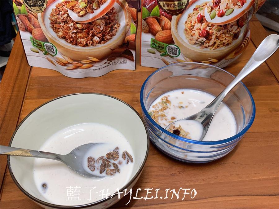 早餐麥片穀物推薦/VIVA萬歲牌堅穀力-巧克力杏仁、蜂蜜椰香美味又營養,加鮮奶更好吃,每天享受活力早餐,健康生活的好選擇!健康早餐/穀物點心/堅果加穀物/果乾/燕麥/零食推薦/下午茶點心/能量補給/營養早餐/營養美味/堅果/穀物美食/萬歲美食/藍子愛美食 健康養身 宅配食記 攝影 民生資訊分享 自己動手做! 飲食集錦