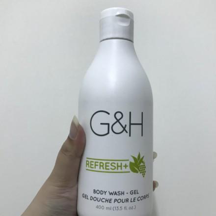 安麗G&H蘆薈沐浴乳 G&H REFRESH TM Body Wash 使用評價:香氣自然不濃郁,睡前放鬆好好睡!好沖淨又不滑膩唷!