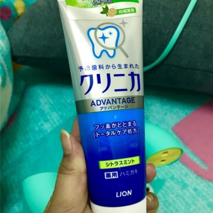 獅王 LION 固齒佳酵素淨護牙膏 柑橘薄荷 享受日本原裝進口的口腔清新使用感受!